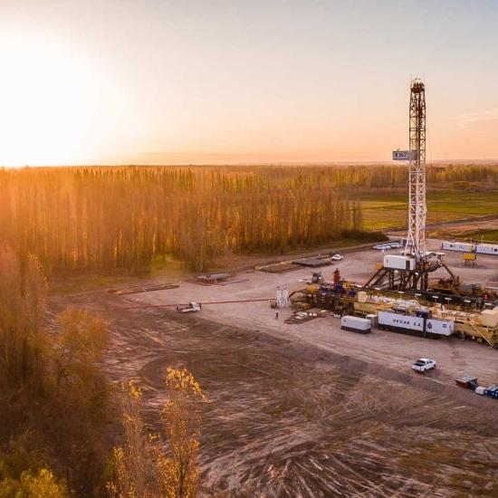 El petróleo desde el aire